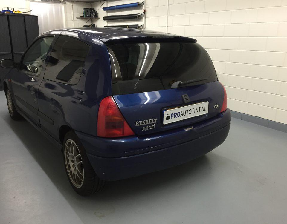Renault Clio Sport ramen blinderen