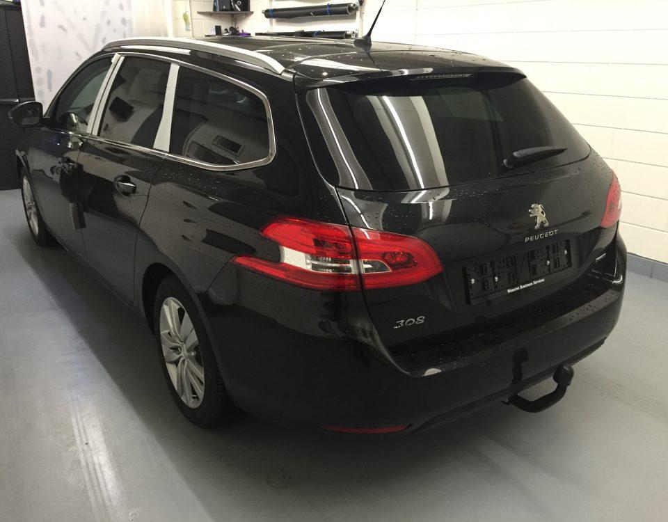 Peugeot 30S ramen blinderen
