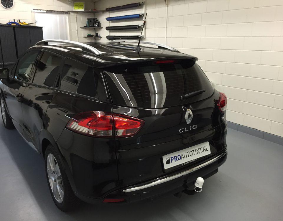 Renault Clio ramen blinderen