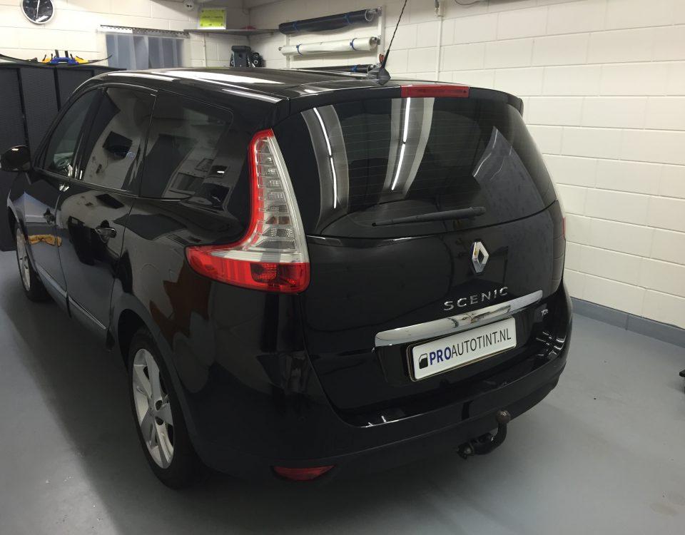 Renault Scenic ramen blinderen
