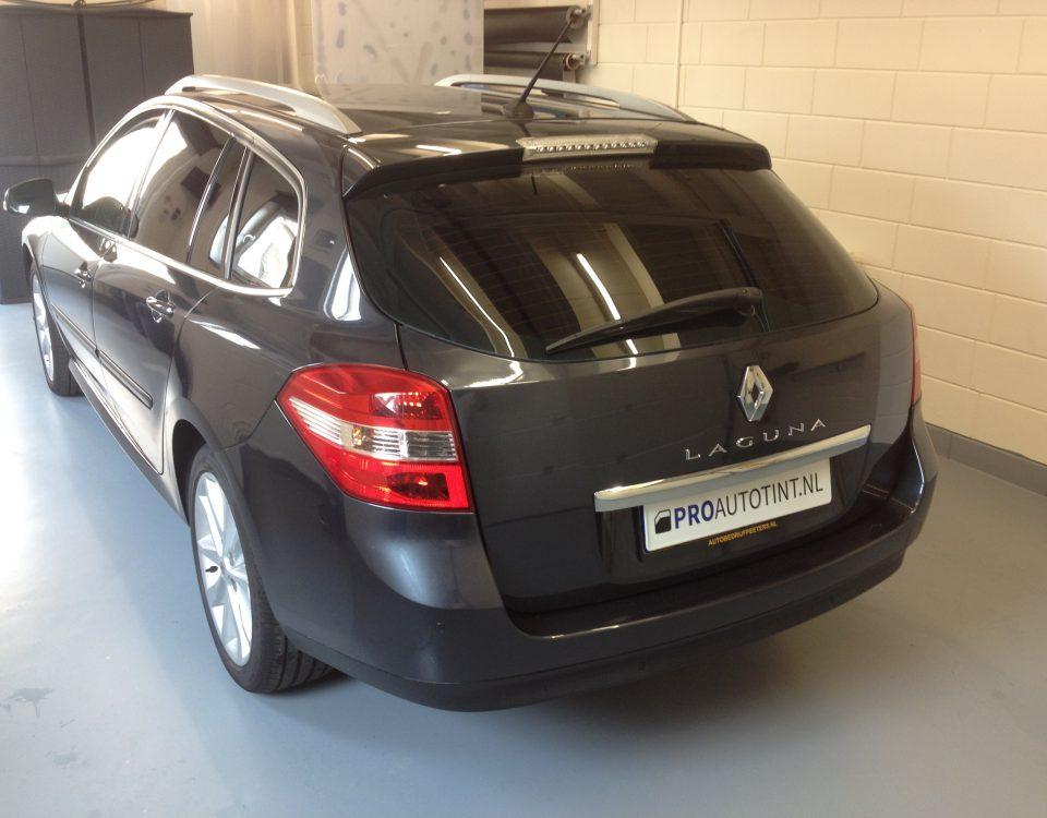 Renault Laguna ramen blinderen