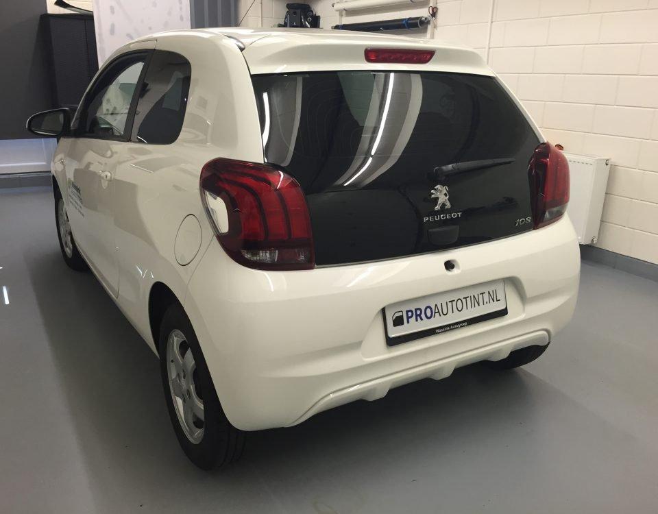 Peugeot 108 ramen blinderen