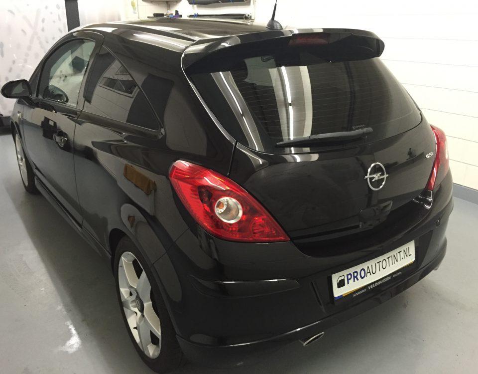 Opel ramen blinderen