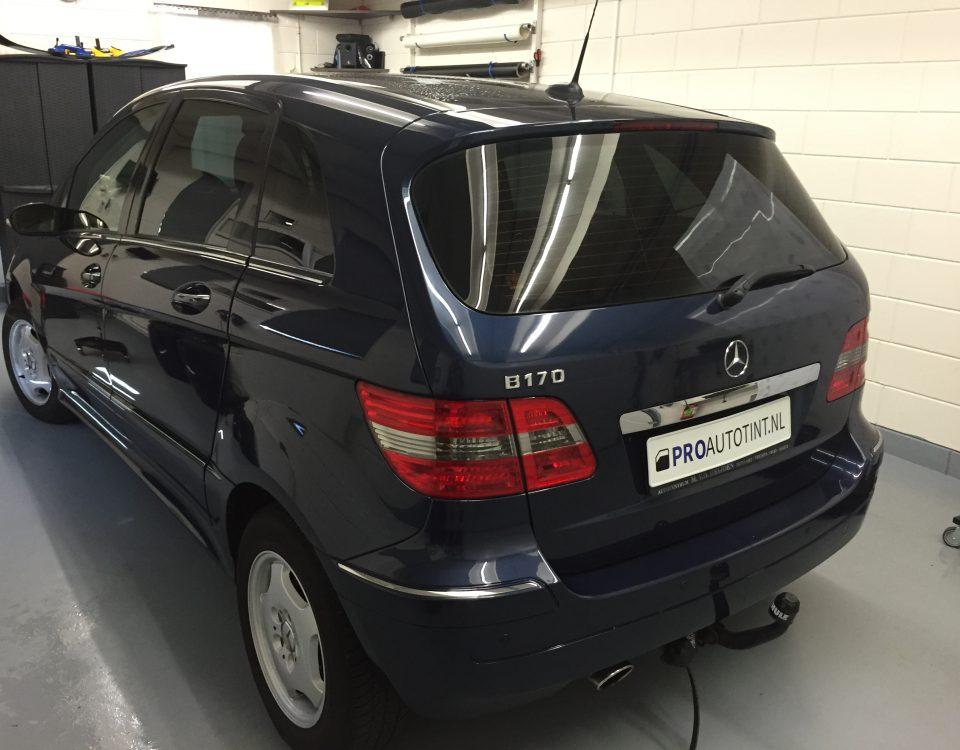 Mercedes B170 ramen blinderen