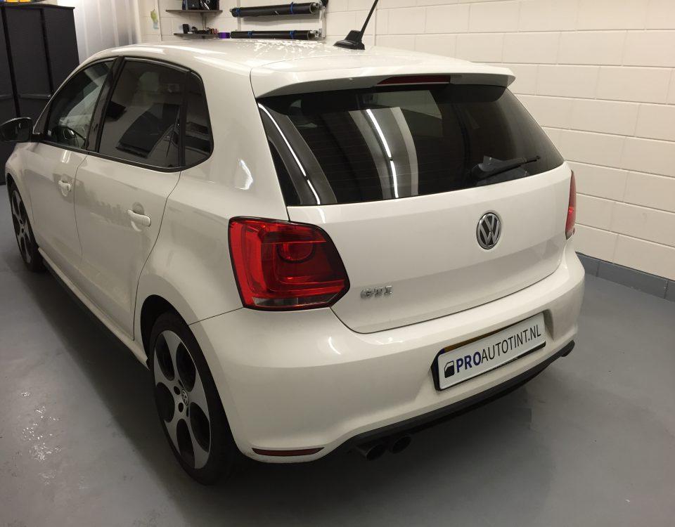 Volkswagen GTI ramen blinderen