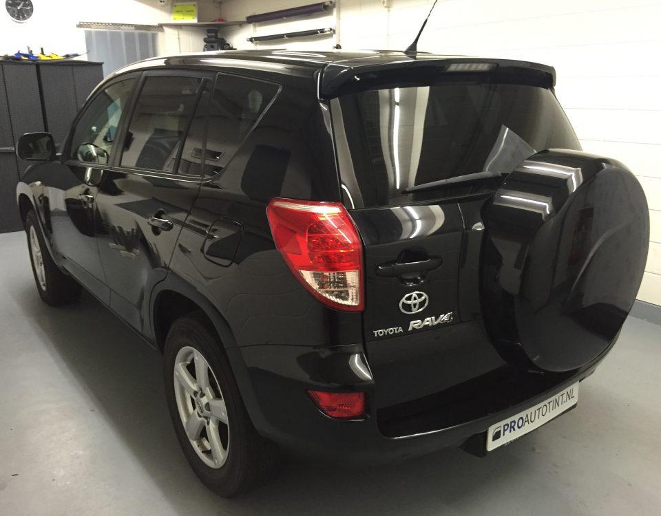 Toyota RAV4 ramen blinderen