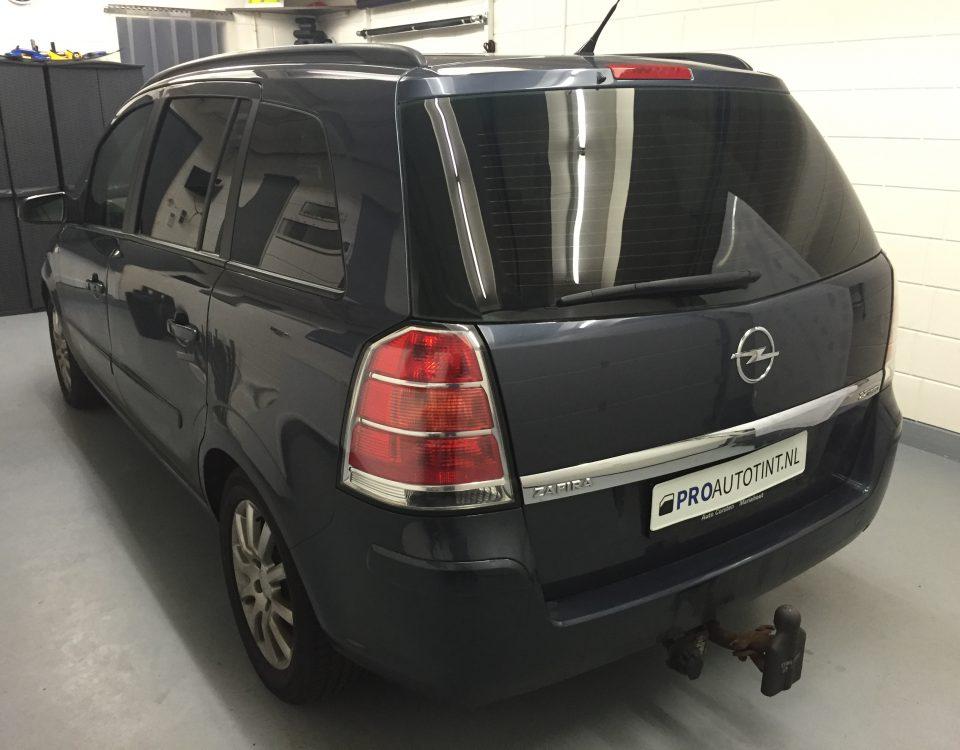 Opel Zafira ramen blinderen