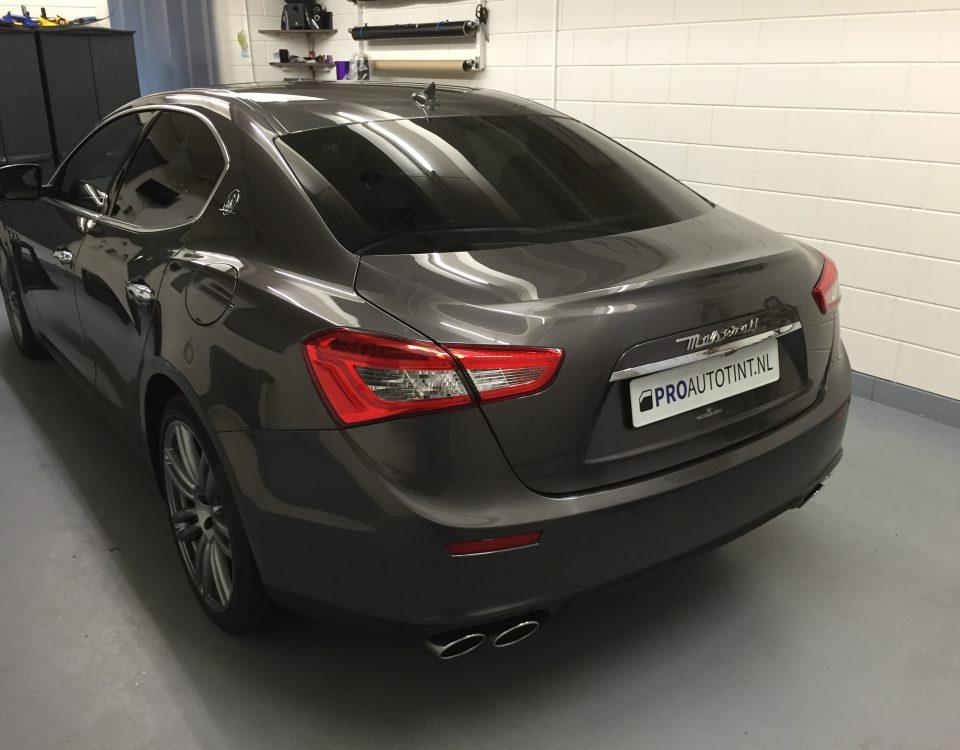 Maserati ramen blinderen