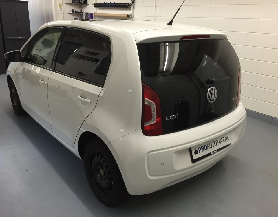 Volkswagen Up! ramen blinderen