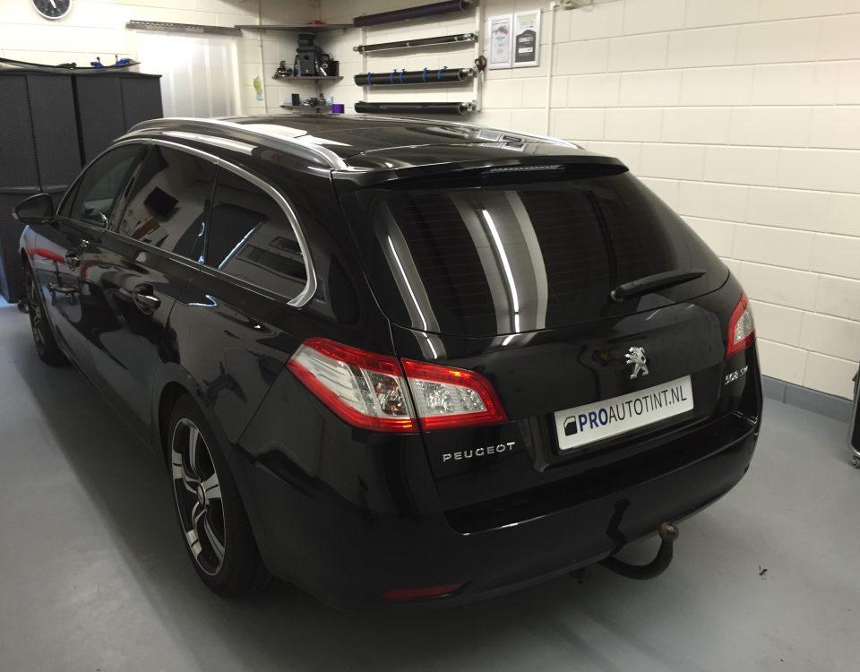 Peugeot ramen blinderen