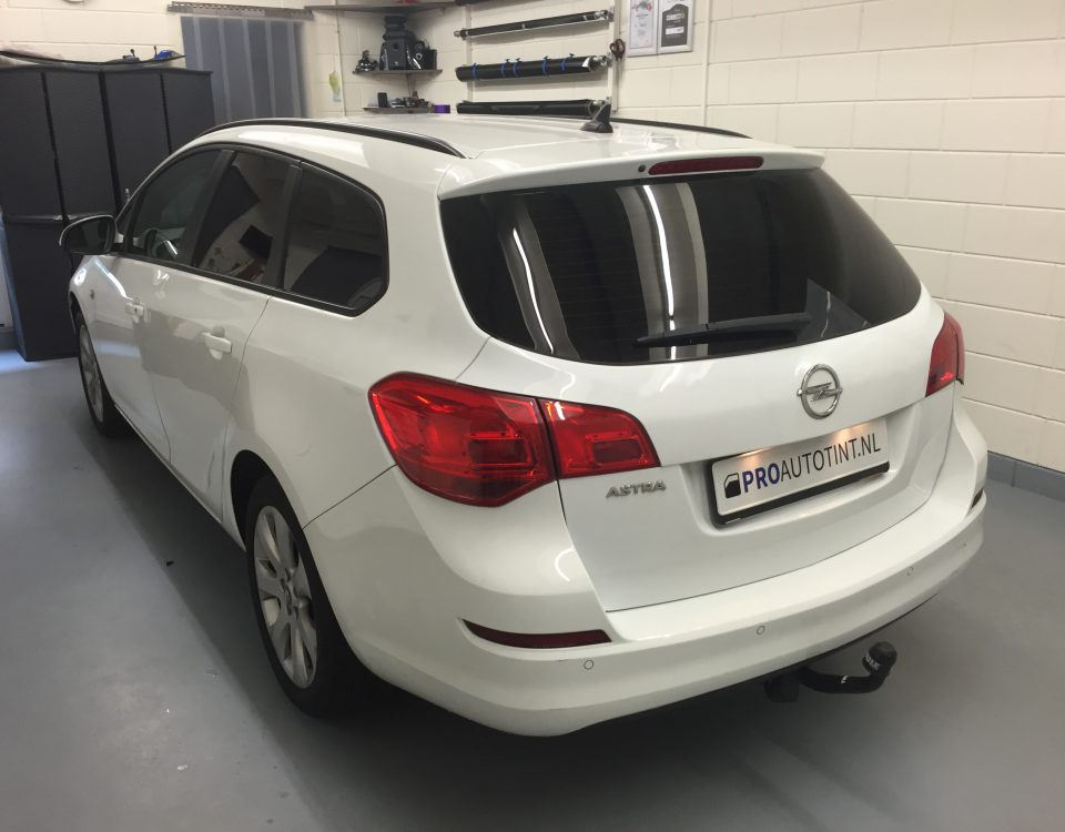 Opel Astra ramen blinderen