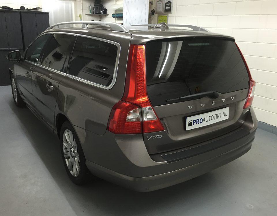 Volvo V70 ramen blinderen
