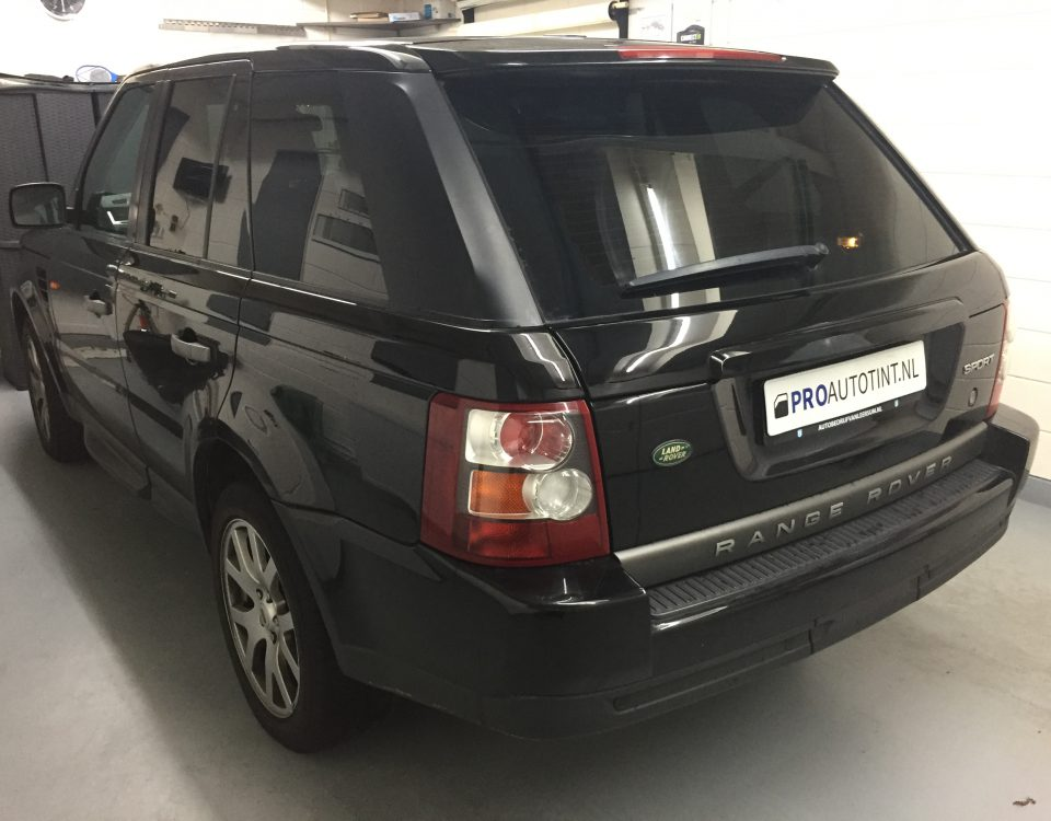 Range Rover Sport ramen blinderen