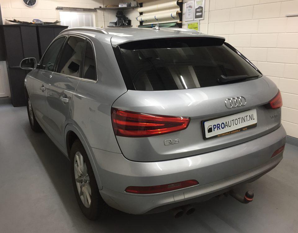 Audi Q3 ramen blinderen