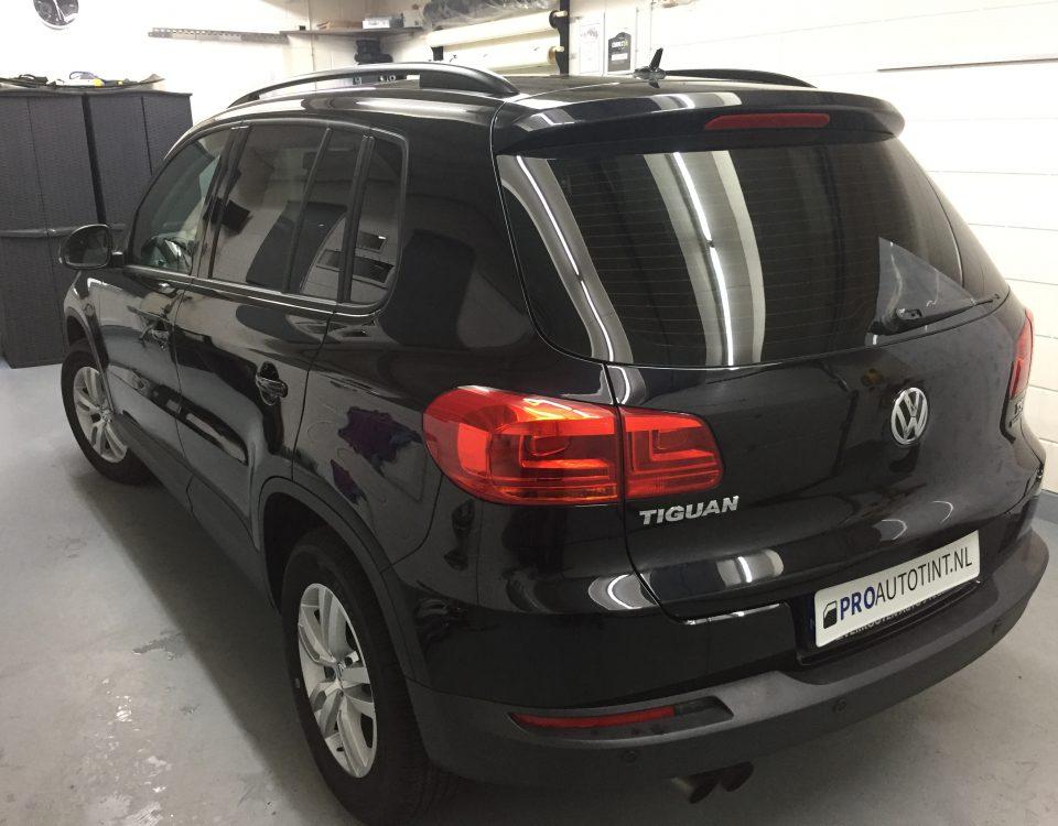 Volkswagen Tiguan ramen blinderen