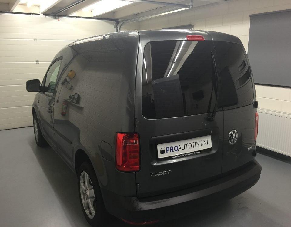Volkswagen Caddy ramen blinderen