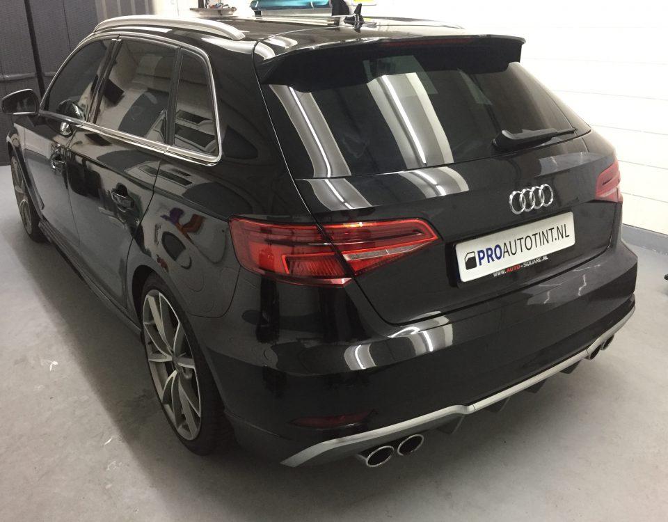 Audi ramen blinderen