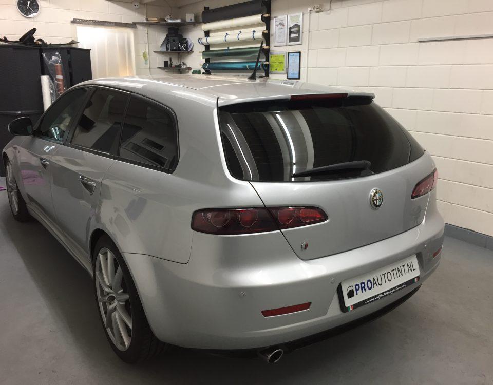 Alfa Romeo ramen blinderen
