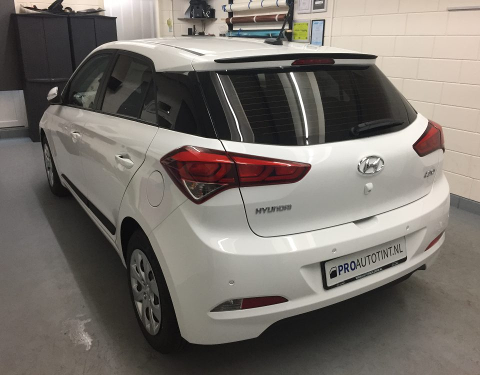 Hyundai i20 ramen blinderen