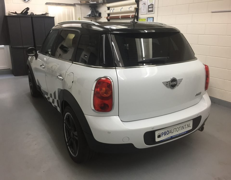 MINI Countryman ramen blinderen