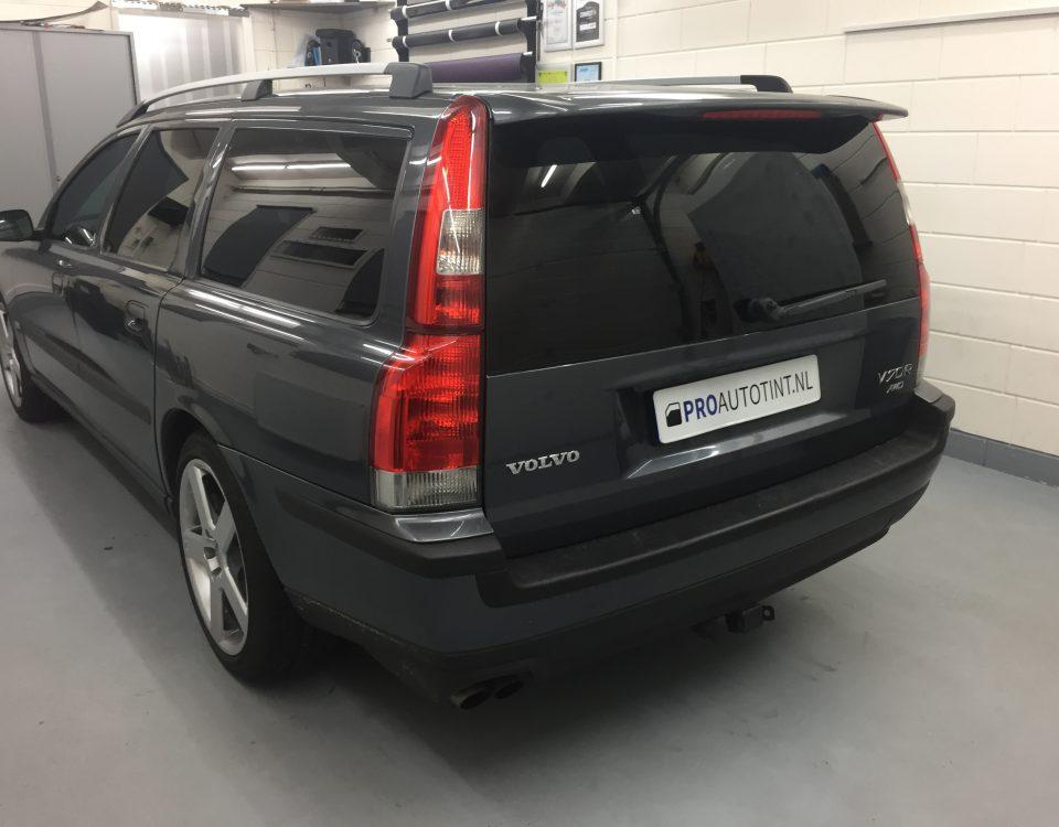 Volvo ramen blinderen