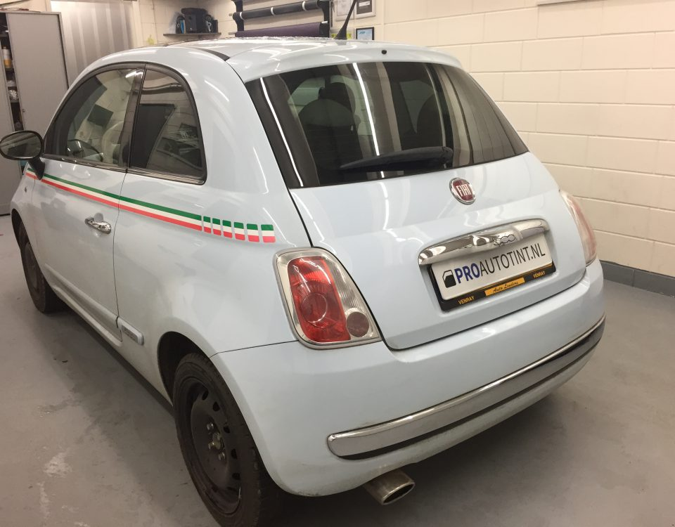 Fiat ramen blinderen