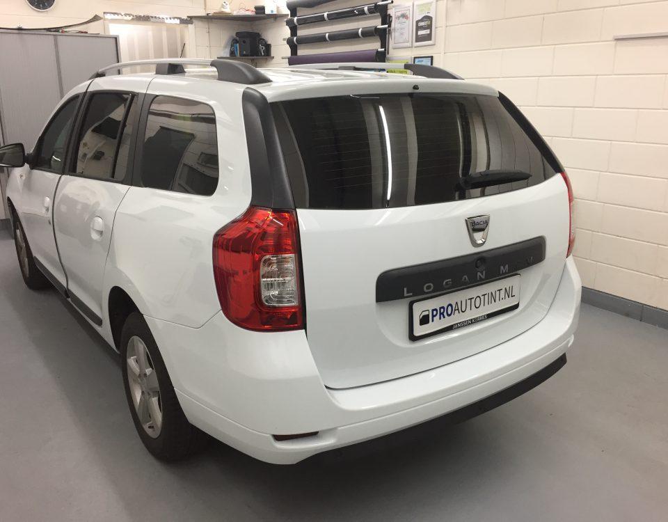 Dacia Logan ramen blinderen