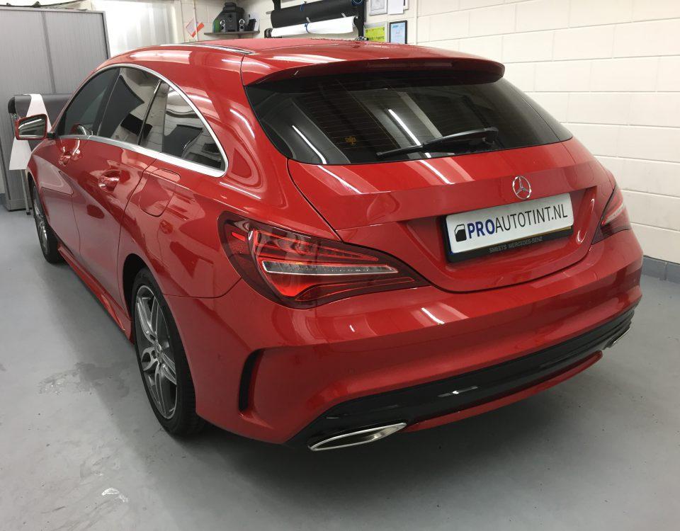 Mercedes ramen blinderen