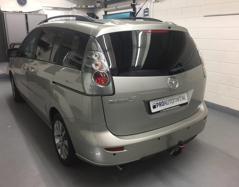 Mazda 5 ramen blinderen
