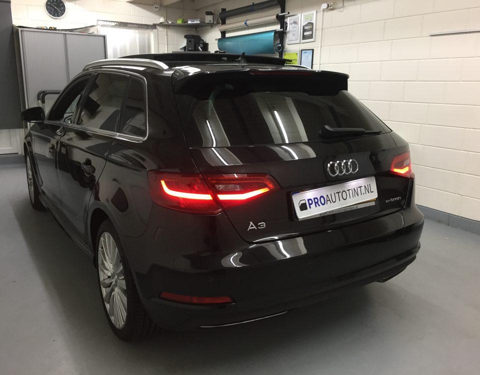 Audi A3 ramen blinderen