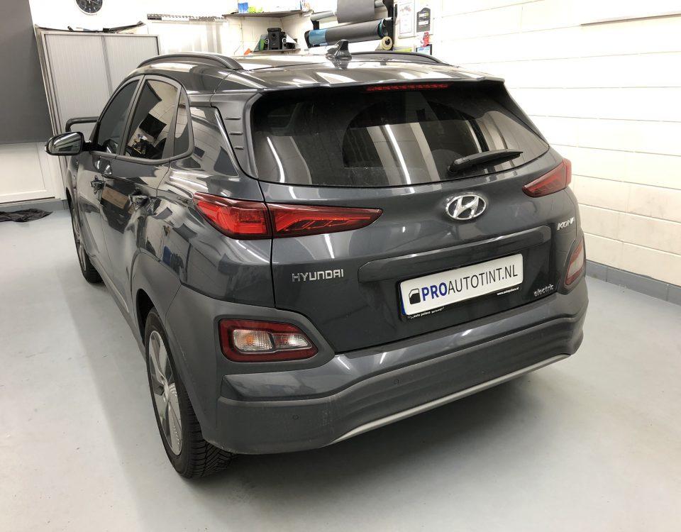 Hyundai KONA ramen blinderen