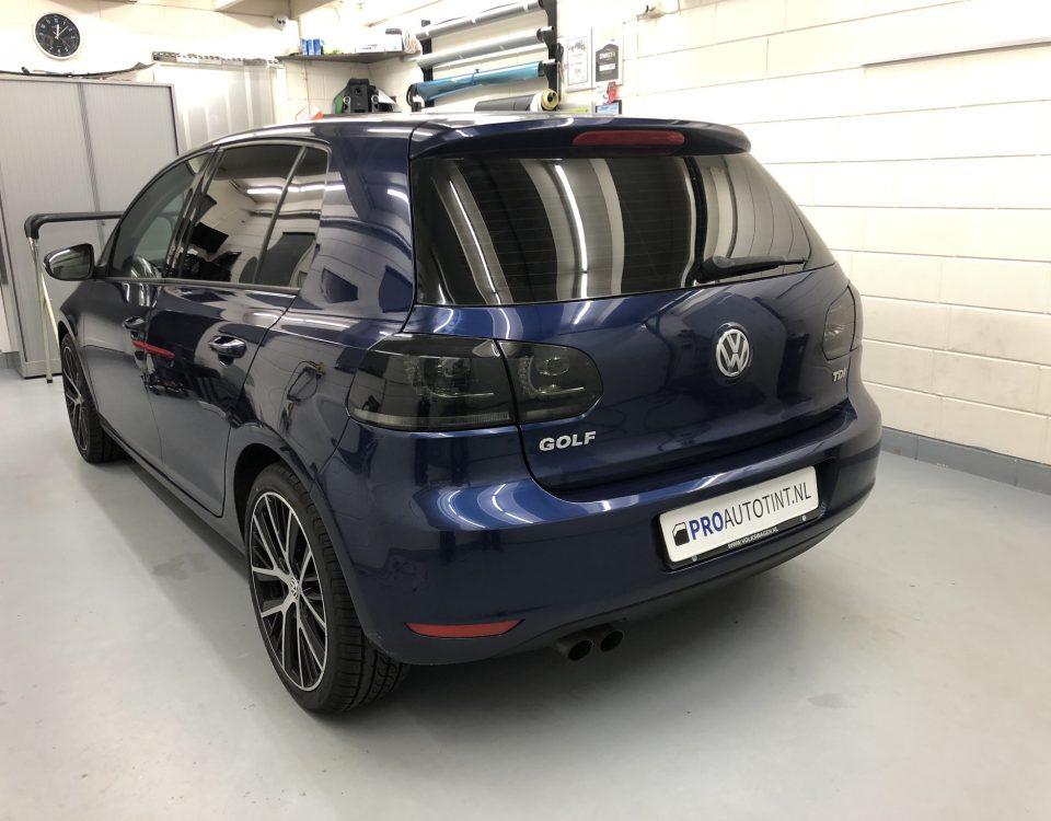 Volkswagen Golf ramen blinderen