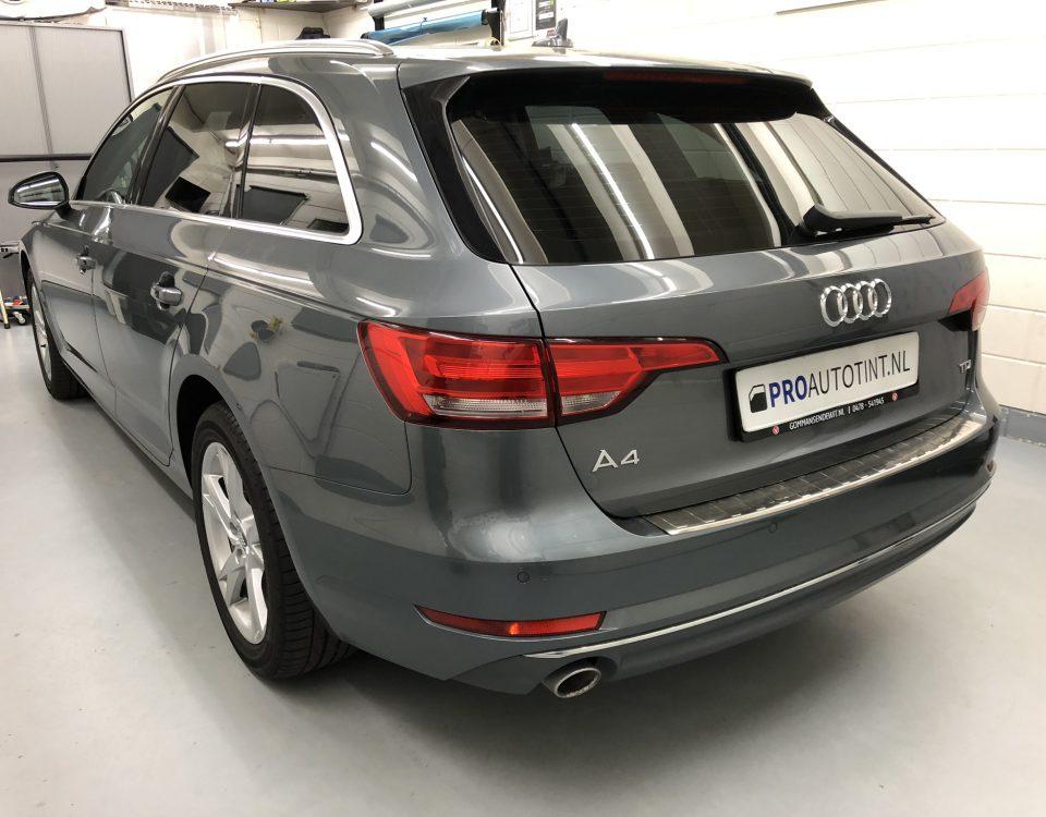 Audi A4 ramen blinderen