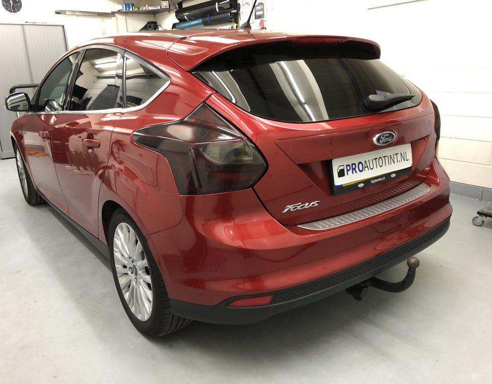 Ford Focus ramen blinderen