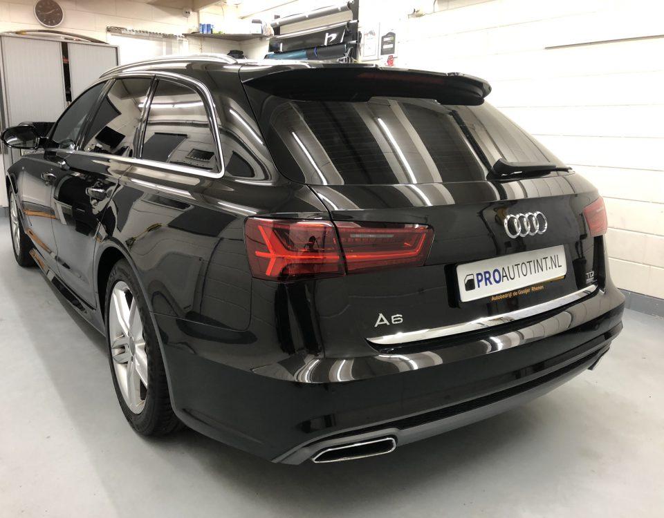 Audi A6 ramen blinderen