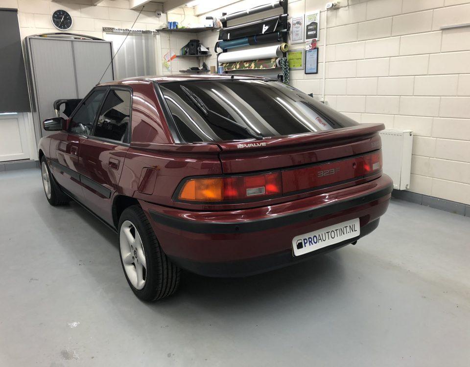 Mazda ramen blinderen