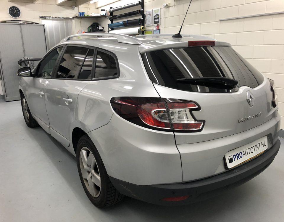 Renault Megane ramen blinderen