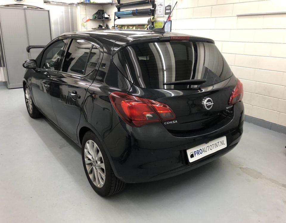 Opel Corsa ramen blinderen