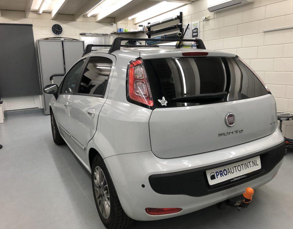 Fiat Punto ramen blinderen