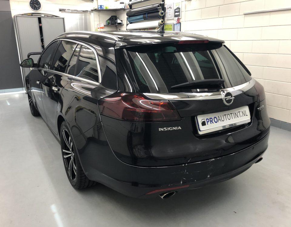Opel Insignia ramen blinderen