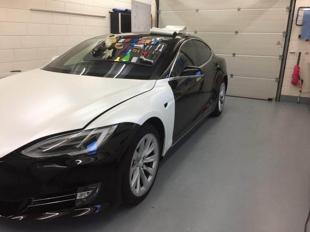 Tesla Model S wrappen