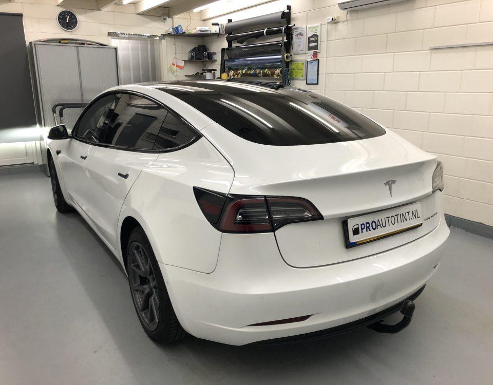 Tesla ramen blinderen