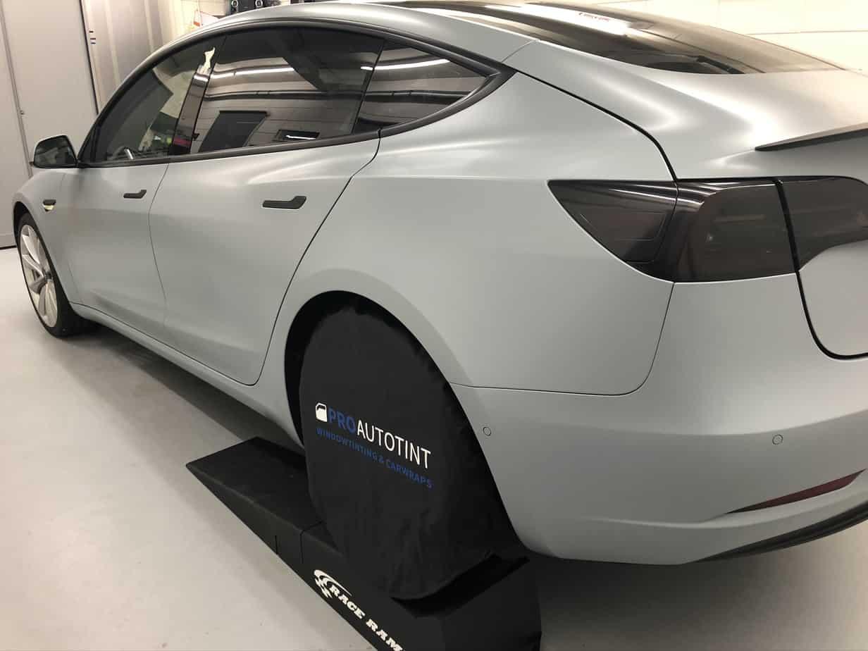 Tesla model 3 auto wrappen