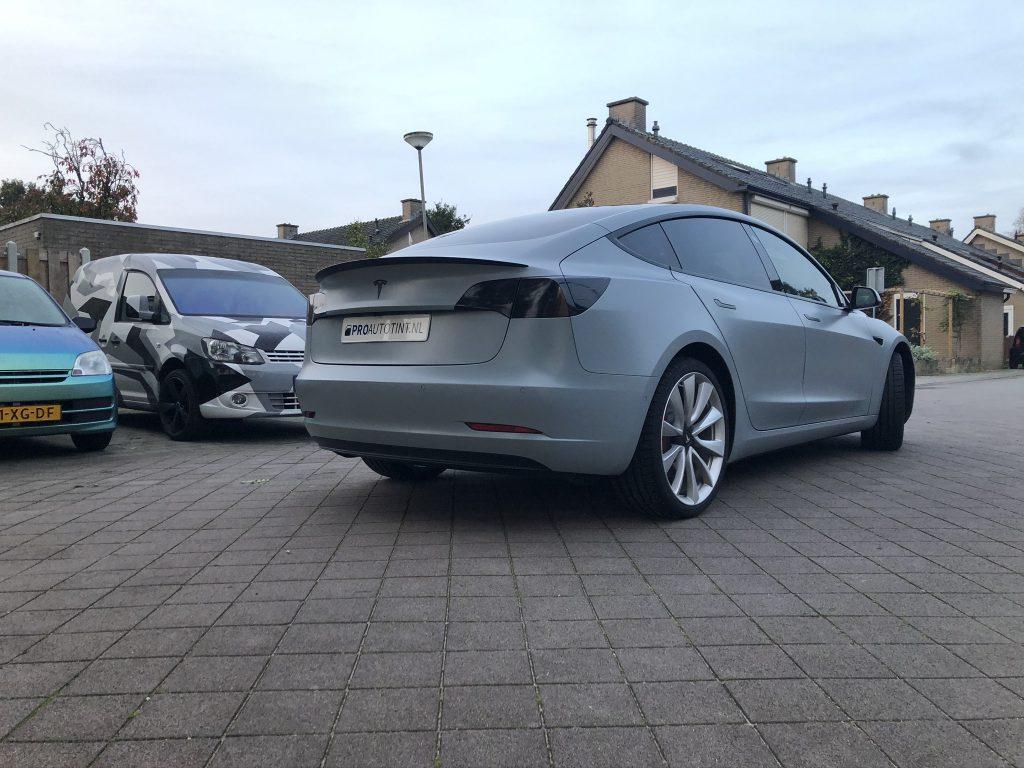 Tesla model 3 wrappen