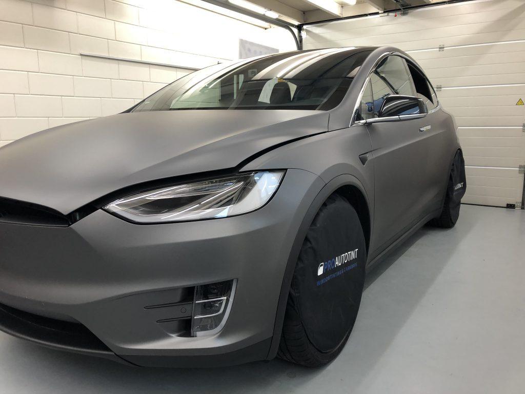 Tesla model X wrappen