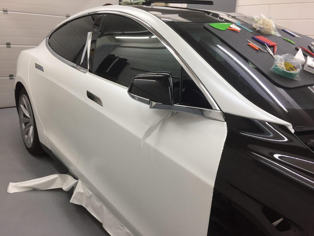 tesla model 2 wrap